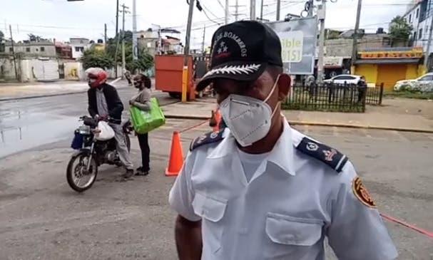 Químico derramado produjo «daños leves de inhalación» a varias personas