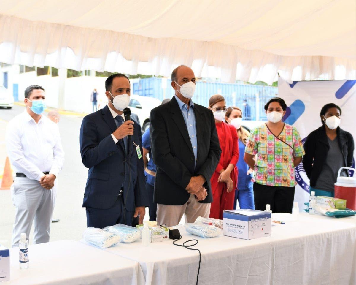 Salud Pública inicia operativo pruebas PCR en Coraasan