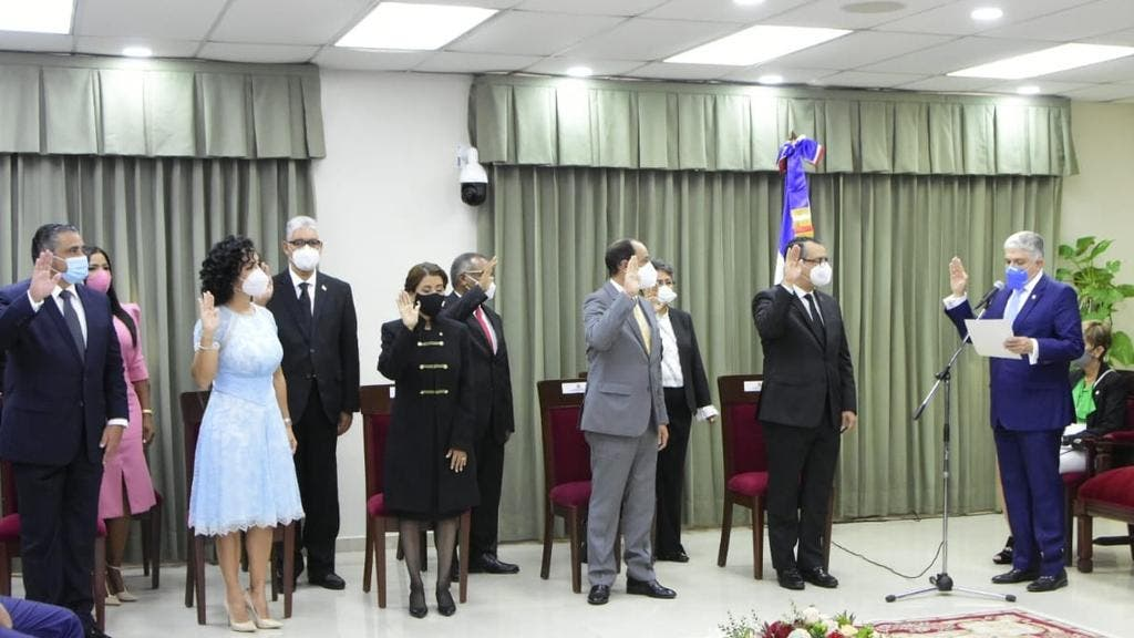 Discurso de Román Jáquez al ser juramentado como presidente JCE