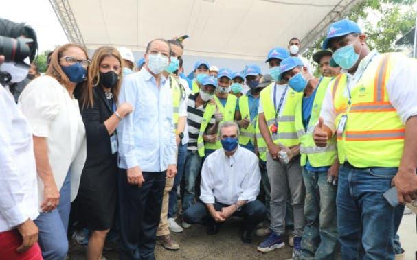 Luis Abinader construirá 500 viviendas en la provincia Duarte