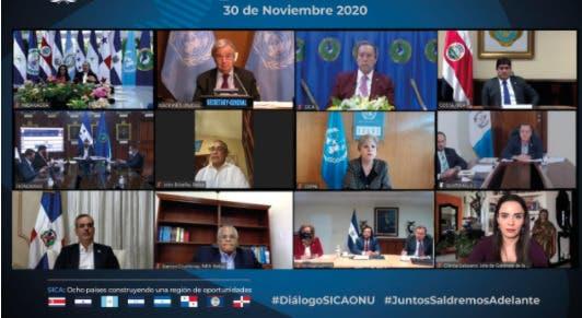 Luis Abinader participa en reunión del SICA: destaca desafíos de la región