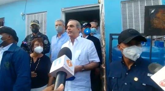 Luis Abinader en caso niña Los Alcarrizos: «Que se entreguen esos delincuentes»