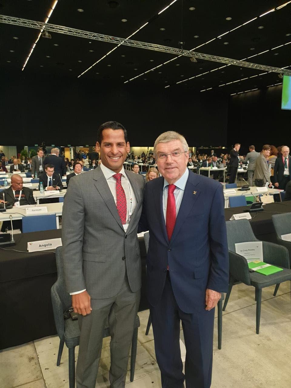 Marcos Díaz forma parte de comisión especial del COI