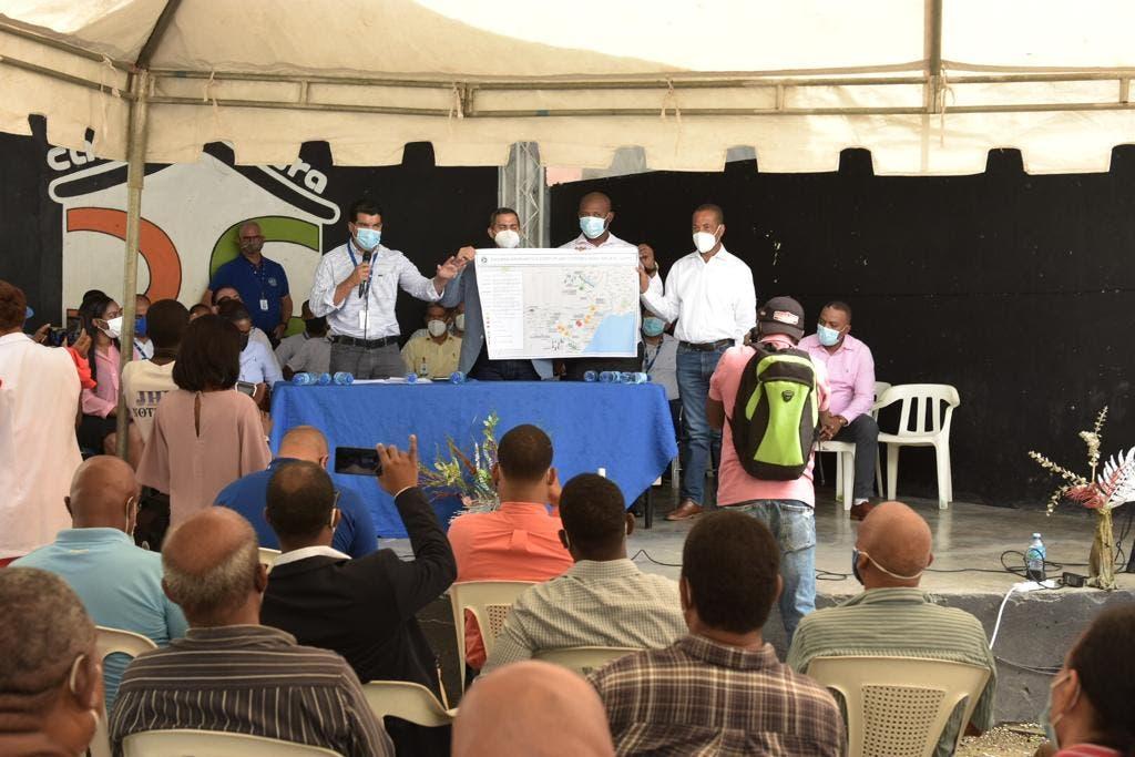 INAPA inicia trabajos para resolver problema de agua potable en Haina y Nigua