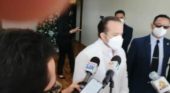 Paliza rehusó referirse a los apresamientos de exfuncionarios por presuntos actos de corrupción