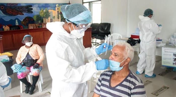 Realizan pruebas coronavirus en alcaldía de Bonao