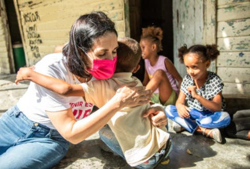 Raquel Arbaje inicia trabajos como presidenta del Gabinete de Niñez y Adolescencia