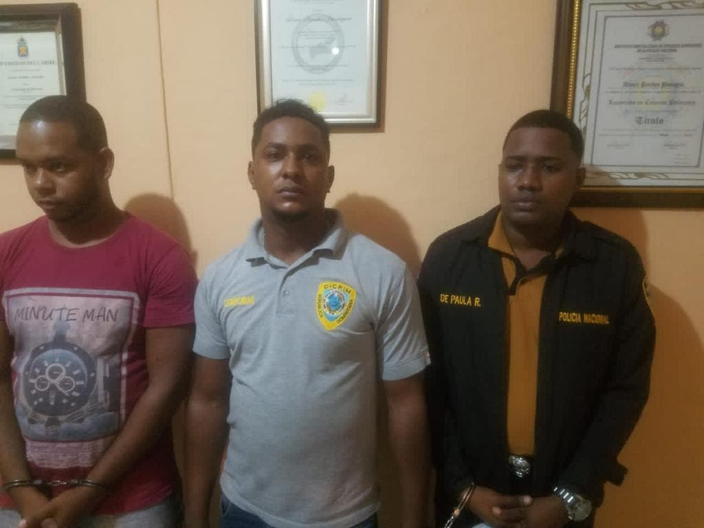 Desvinculan y envían a la justicia a oficiales PN acusados de extorsión