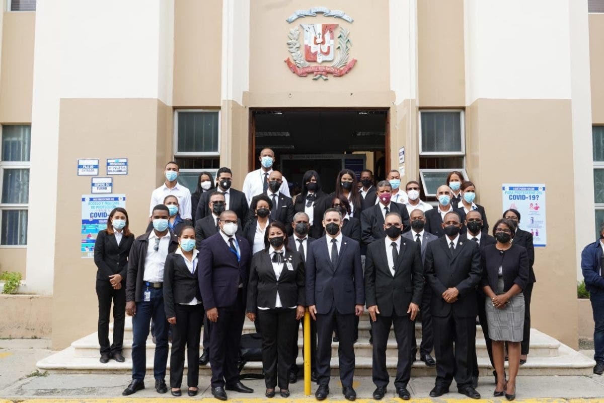 Presidente de SCJ realiza recorrido por el Departamento Judicial de San Juan
