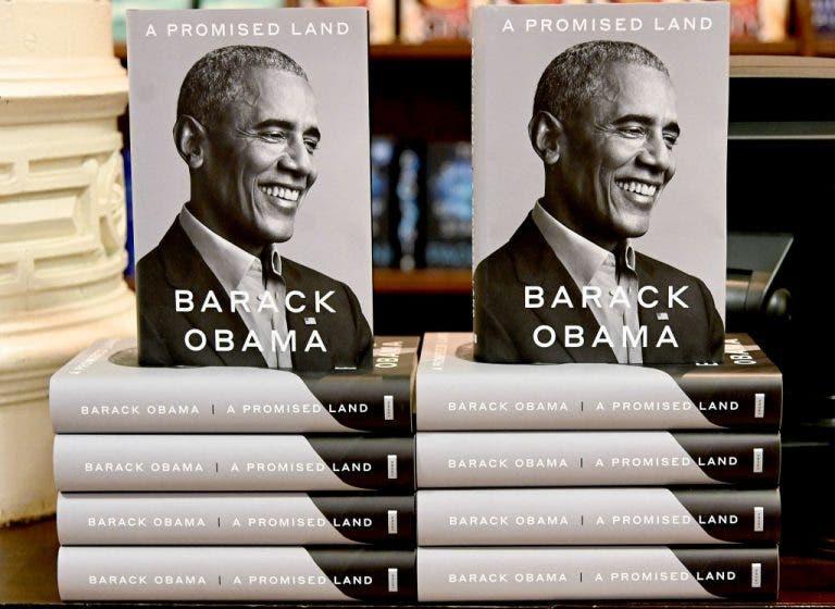 Las nuevas memorias de Obama venden casi 900.000 copias en 24 horas