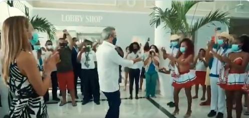 «A mi hay que bailarme así de bueno»: Raquel Arbaje tras baile de Luis Abinader
