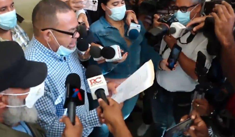 Pide reabrir proceso contra José Ramón Peralta por supuesta mafia