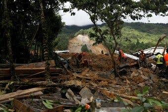 Guatemala suspende búsqueda tras derrumbe por Eta