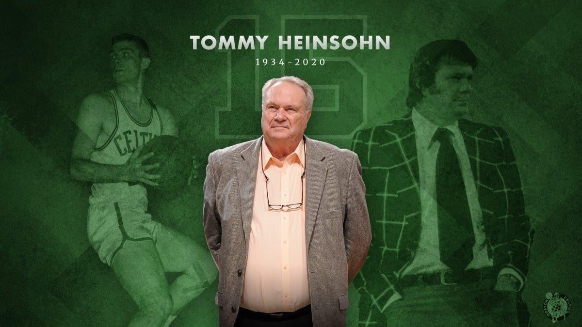 Falleció Tommy Heinsohn, jugador, técnico, locutor y leyenda de los Celtics