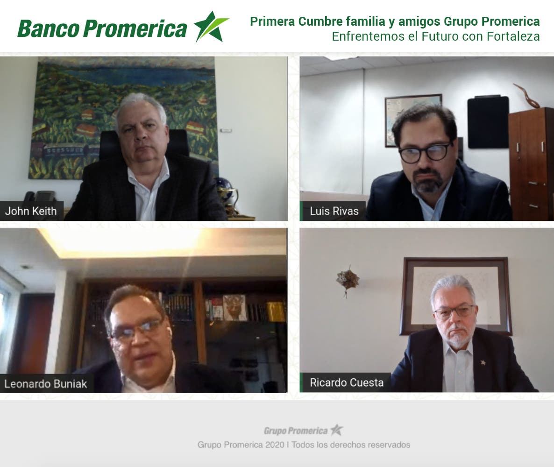 "Grupo Promerica realizó cumbre internacional ""Enfrentemos el futuro con fortaleza"""