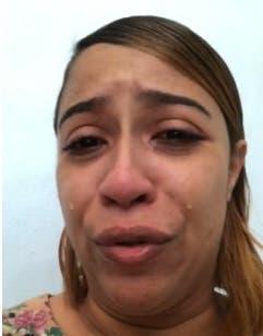 «Yo lo único que quiero es estar con mi hijo»: entre lágrimas, mujer pide ayuda a las autoridades