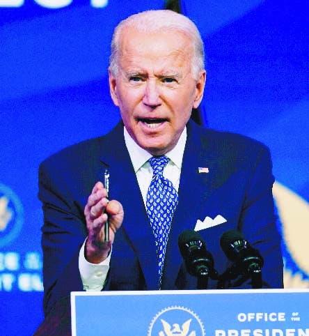 """Habla Joe Biden: """"Nuestra democracia está bajo un ataque sin precedentes»"""