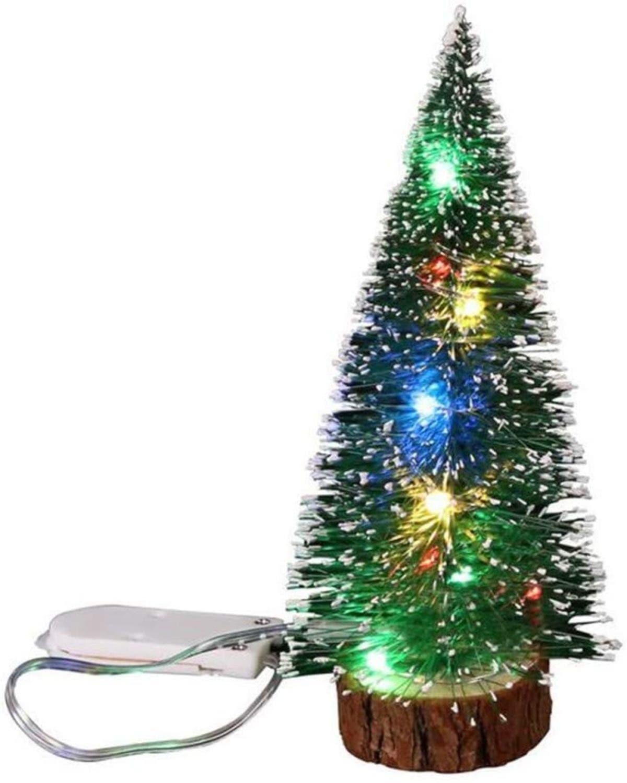 Mini arbolitos, opción práctica para alegrar la Navidad