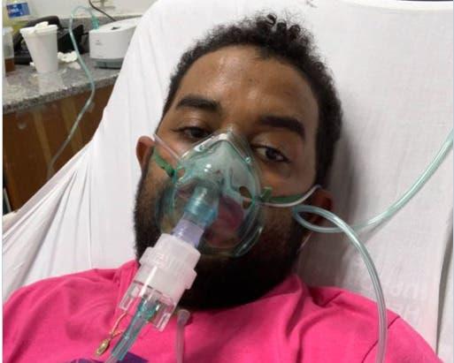 Raquel Arbaje visita paciente de cáncer de pulmón que pidió ayuda