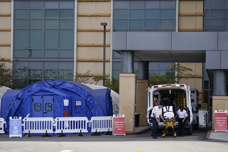 La explosión de casos de coronavirus en California abruma a los hospitales