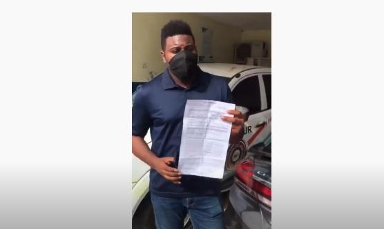Conductor Uber denuncia fue multado con RD$50 mil por el Intrant