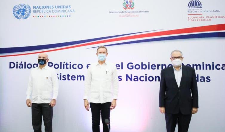 Gobierno RD y Sistema de Naciones Unidas inician diálogo político