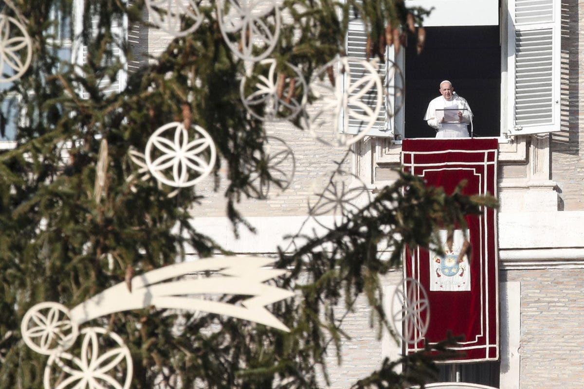 """El papa lamenta que el consumismo """"ha secuestrado la Navidad»"""