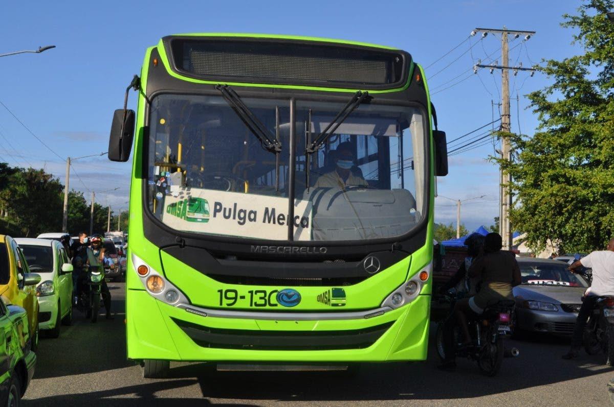 OMSA crea rutas para población pueda ir a comprar al Merca Santo Domingo y La Pulga