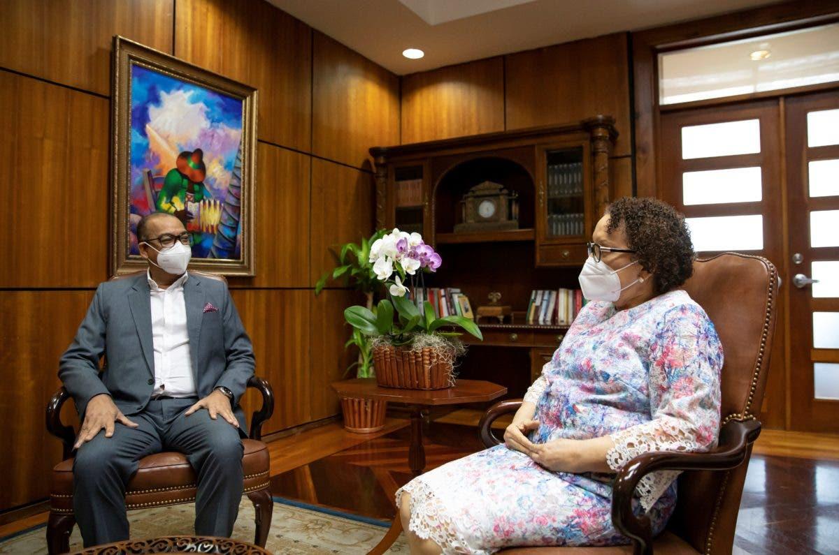Procuradora Miriam Germán se reunió con el ministro de Obras Públicas