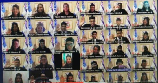 Pleno SCJ juramenta y entrega despachos a 40 nuevos jueces de paz