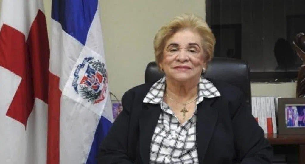 Fallece por COVID-19 Ligia Leroux de Ramírez, presidenta de la Cruz Roja Dominicana