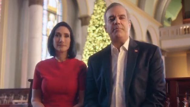 El mensaje de Luis Abinader y su esposa con motivo de la Navidad