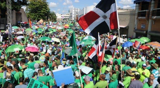 Marcha Verde sobre discurso de Luis Abinader: «Teatro caro para anuncio repetido»