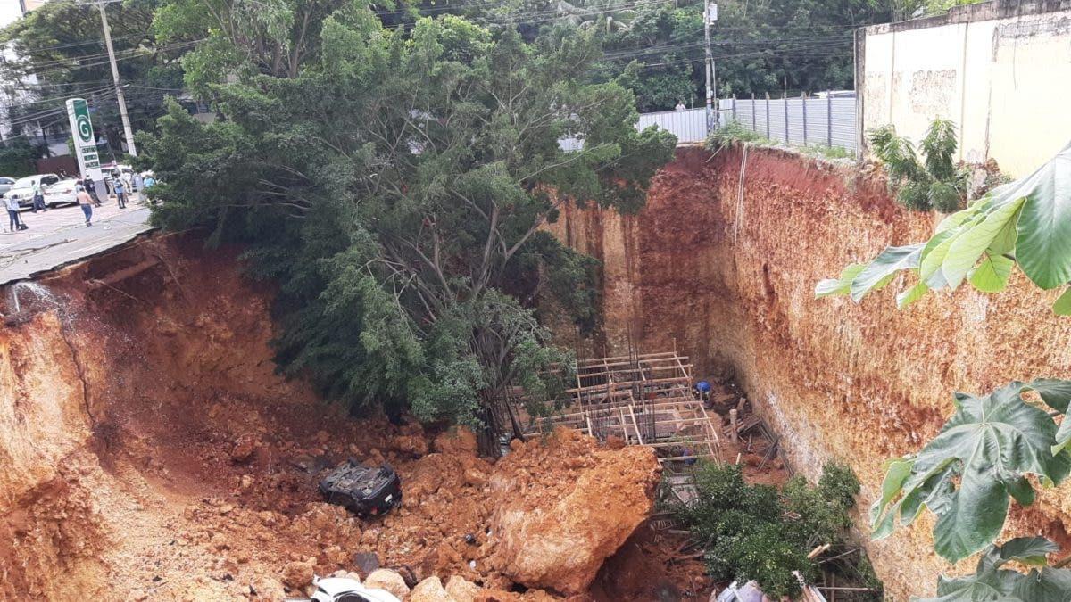 ADN realiza levantamiento en zona donde ocurrió derrumbe en Gazcue