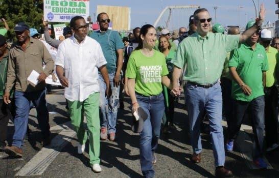 Marcha Verde expresa públicamente al presidente Abinader que no está solo