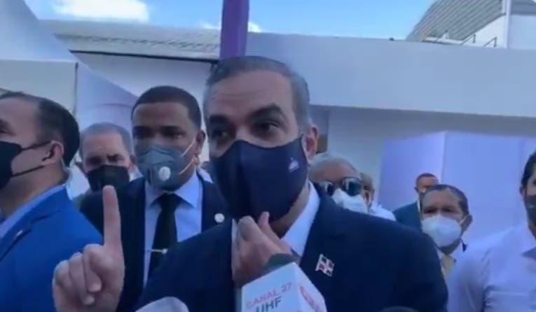 Luis Abinader aclara RD no pagará por nuevos hospitales en Haití