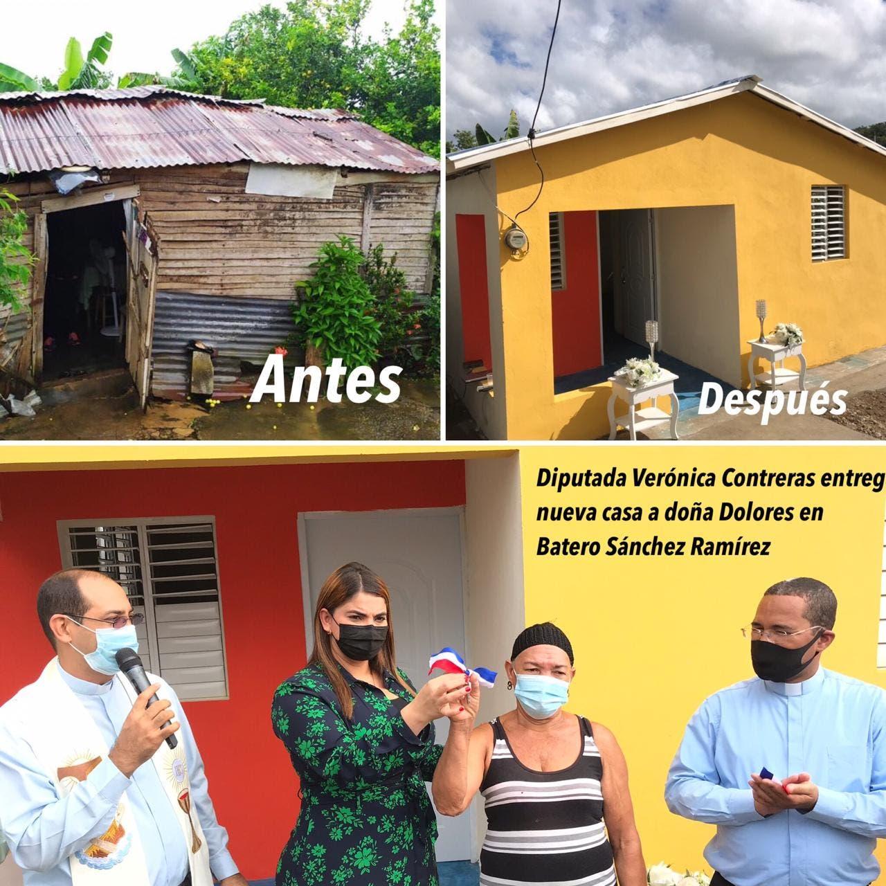 """Diputada Verónica Contreras inaugura """"La Casa de Doña Dolores en Batero de Cevicos"""""""