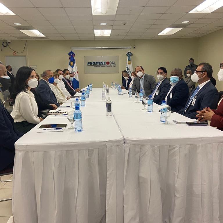Vicepresidenta de la República se reúne con el Gabinete de Salud del Gobierno
