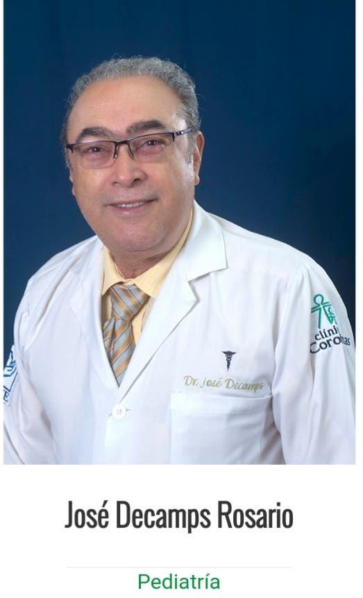 Fallece reconocido pediatra de Santiago José Decamps