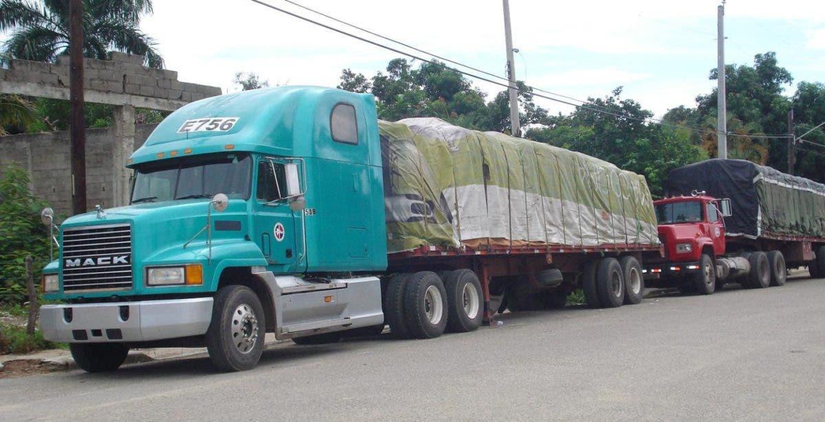 INTRANT deberá autorizar tránsito de camiones en el Distrito Nacional