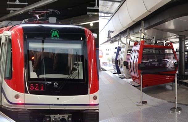 Metro y Teleférico de Santo Domingo trabajarán hasta las 6:00 PM