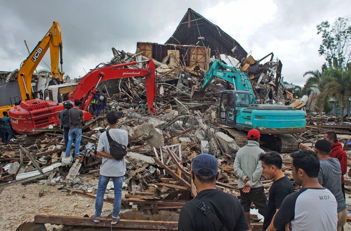 Potente terremoto en Indonesia  deja al menos 34 muertos