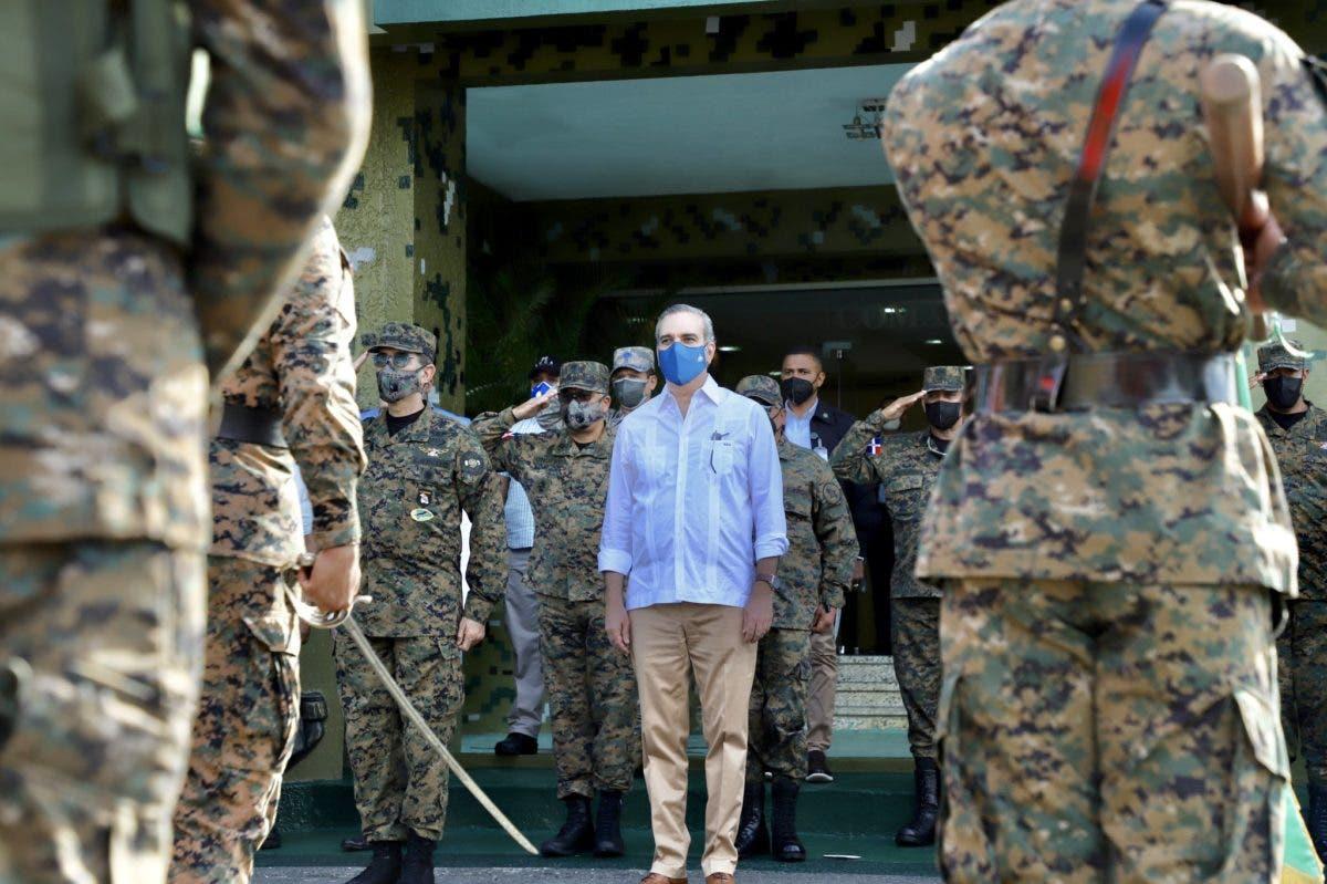 Fuerzas Armadas recibirá aumento salarial, anuncia Abinader