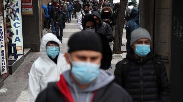Chile abre el 2021 con la cifra más alta de contagios desde julio pasado