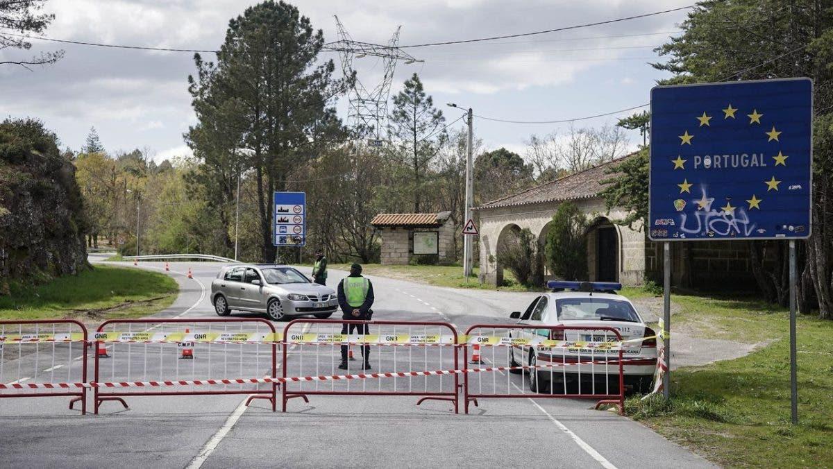 España y Portugal restringirán la movilidad fronteriza para frenar el COVID-19