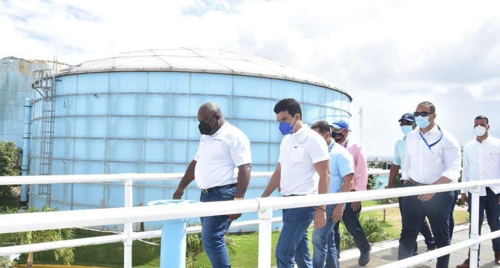 INAPA y autoridades de La Romana inspeccionan acueductos para optimizar servicio de agua potable
