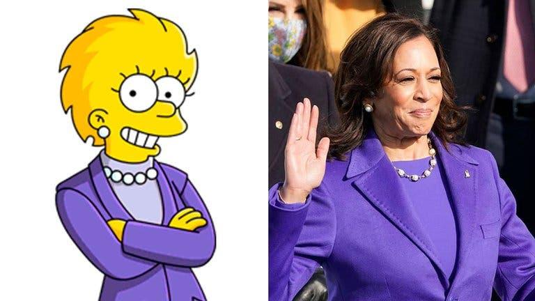 Otra predicción de Los Simpson: Kamala Harris como Lisa Simpson