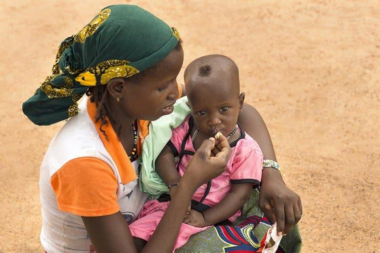Por la pandemia diez millones de niños en África sufrirán desnutrición aguda en 2021, según Unicef