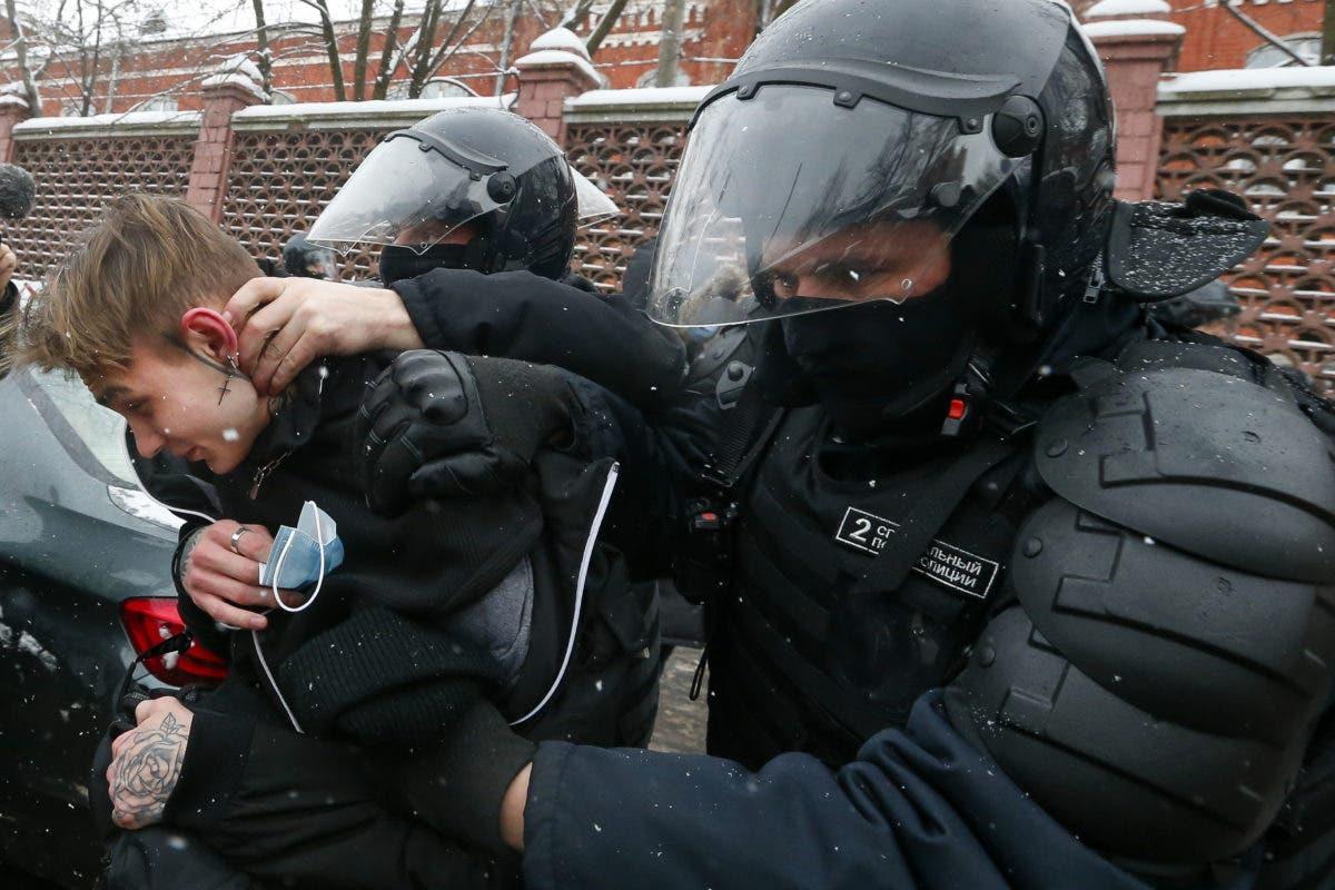 Rusia   Ahora más de 4.700 detenidos en marchas en apoyo a Navalny