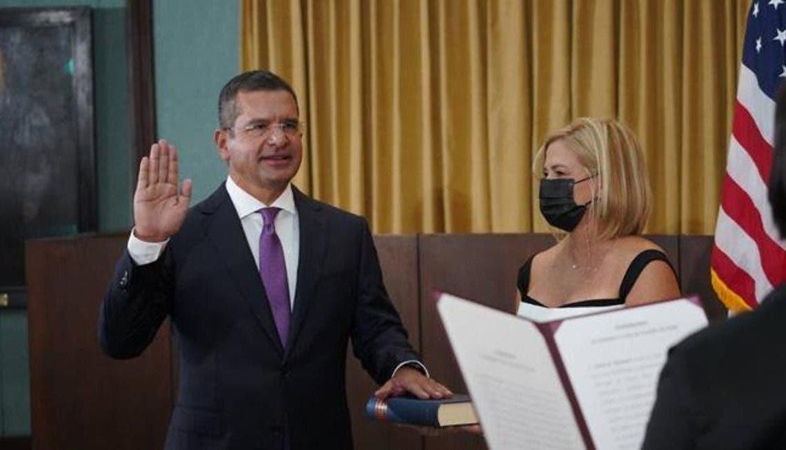 Pedro Pierluisi se juramenta como gobernador de Puerto Rico